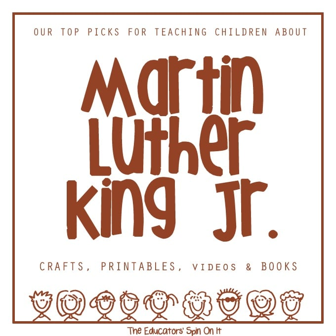 Activities For Learning About Martin Luther King Jr The Educators