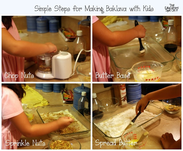 Steps for Making Baklava with Kids