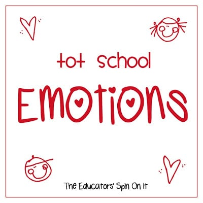 Learning about Emotions: Tot School {24 months}