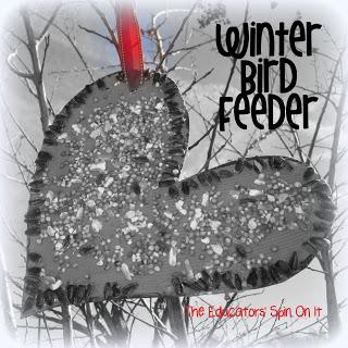 Winter Birds Craft Idea for Birdfeeder