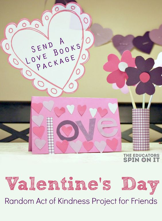 Activity Ideas to include in a Love Books Package to mail to a loved one for International Book Giving Day