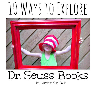 Dr. Seuss Activities for Kids from The Educators' Spin On It