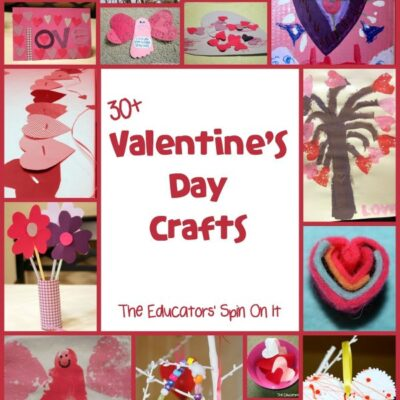 30+ Valentine's Day Crafts and Activities for Kids!
