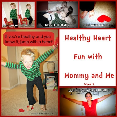 Indoor Activities for Heart Healthy fun with Kids from The Educators' Spin On It