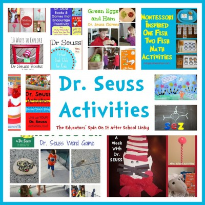 Dr. Seuss Activities for Read Across America