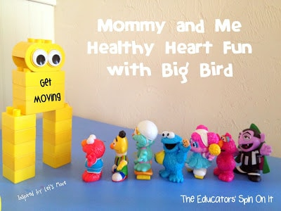 Mommy and Me Workout Ideas with a Sesame Street Theme and Mrs. Obama!