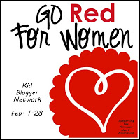 Go RED for Women with the Kid Blogger Network