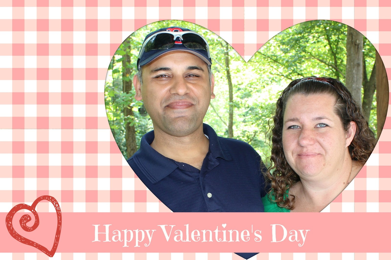 Making a Valentine's Day Card with Picmonkey for your Husband.