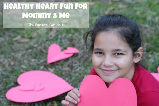 Mommy and Me Workout for Heart Healthy Fun from The Educators' Spin On It