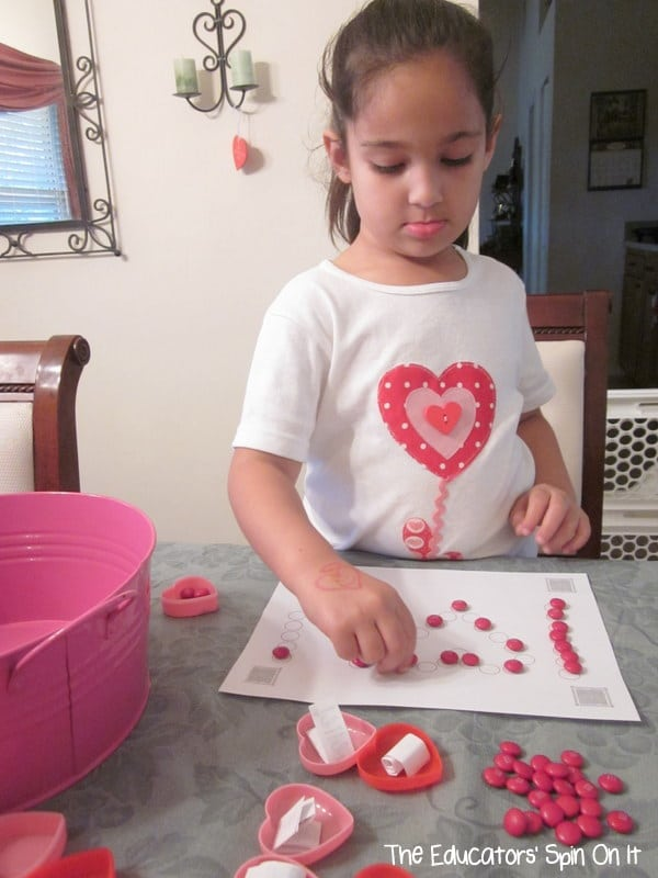 Valentines Day Scavenger Hunt with Free Printable Messages