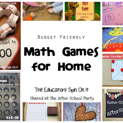 Budget Friendly Math Games for Home
