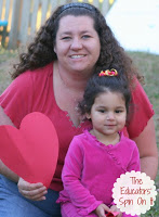 Heart Healthy Fun for Mommy and Me from The Educators' Spin On It Go RED for Women Blog Hop