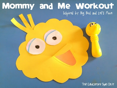 Mommy and Me Workout inspired by Let's Move