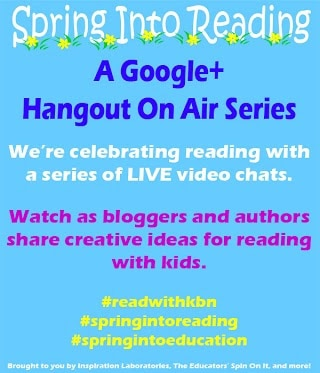 Spring Into Reading Hangout On Air Series