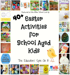 40 + Easter Activities for School Aged Kids
