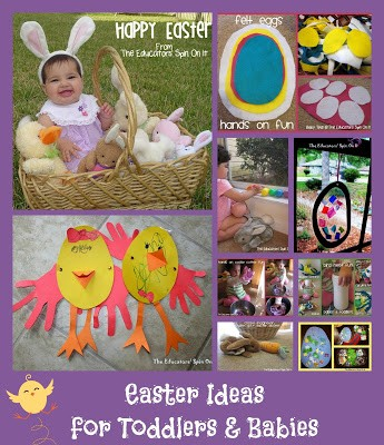 Last Minute Easter Activities for Babies and Toddlers