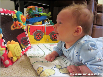 How To Play With A 2 Month Old The Educators Spin On It