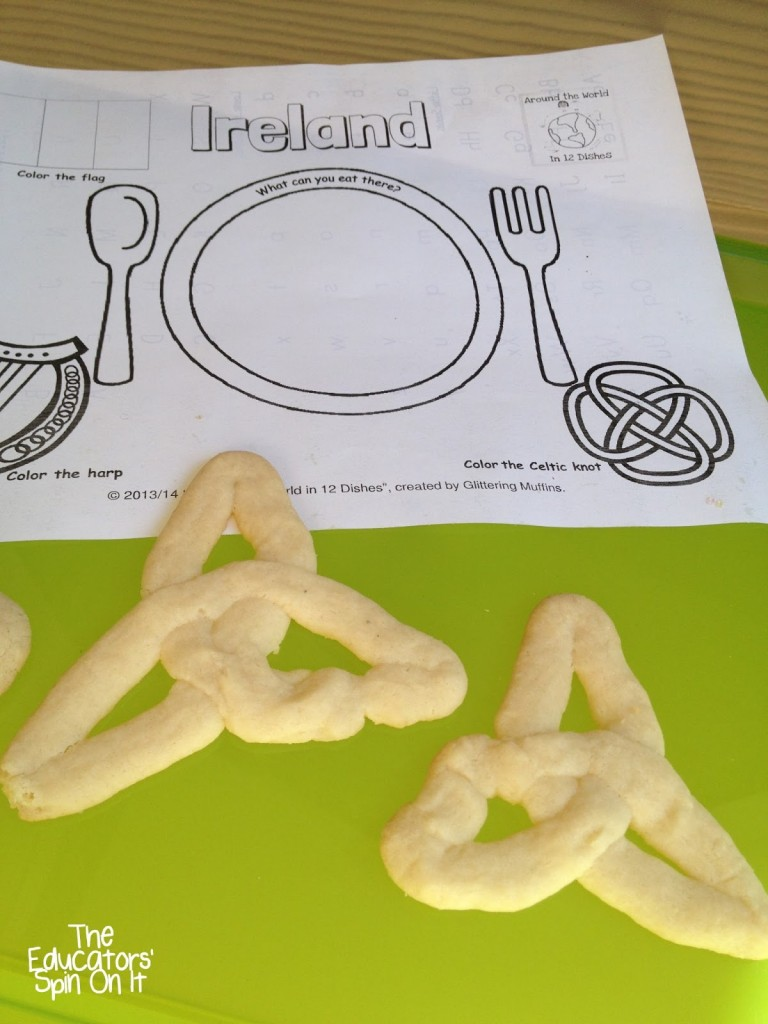 Ireland Crafts and Recipes for Kids