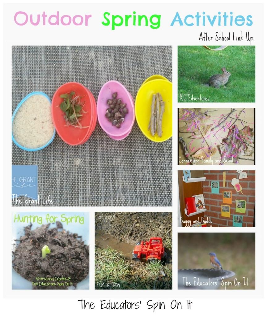 outdoor spring activities for kids