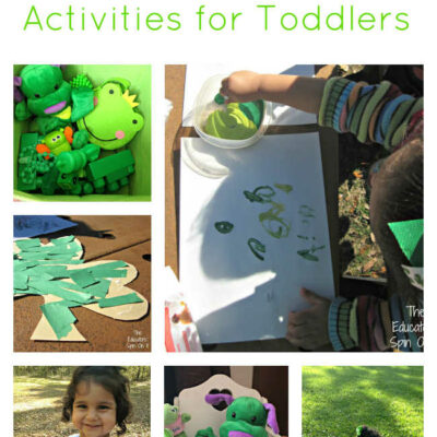 St. Patrick's Day Activities for Tot School
