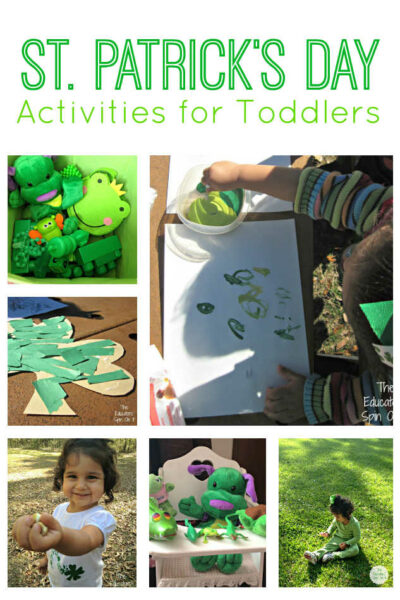St. Patrick's Day Activities for Toddlers