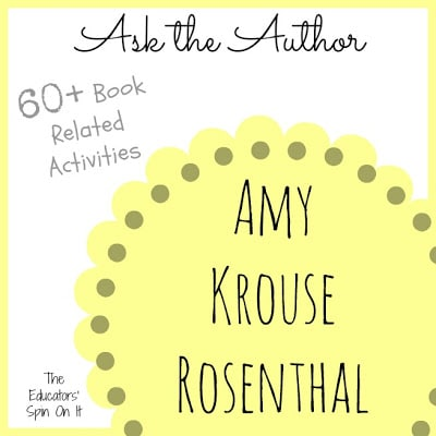 Q & A with Author Amy Krouse Rosenthal