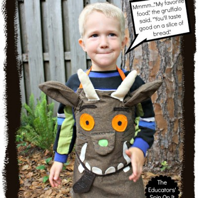 How to Make a Gruffalo Dress Up Apron for Creative Storytelling