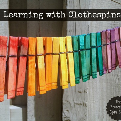 Creating and Learning with Clothespins