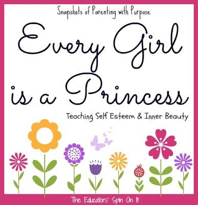 Parenting Tips for Teaching Self Esteem and Inner Beauty