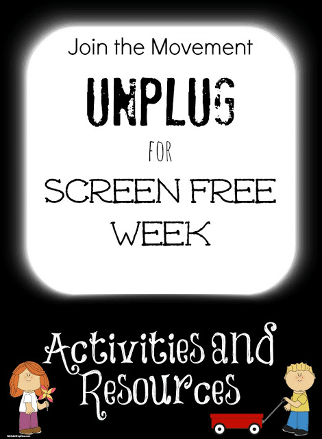 Screen Free Week Activities and Printables by The Educators' Spin On It
