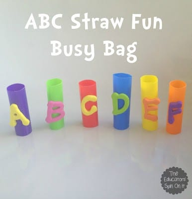 ABC Fun Busy Bag