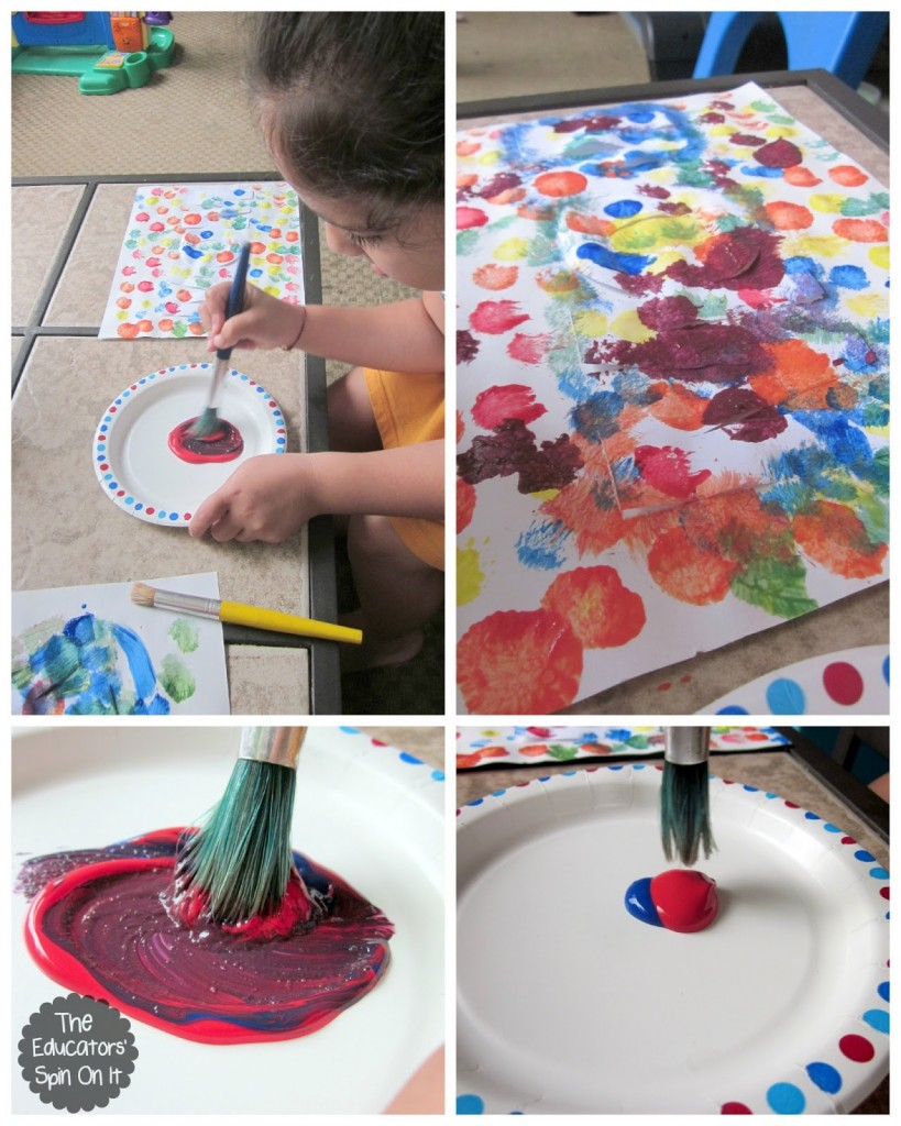 Easy Mothers Day Craft Idea For Kids With Paint Resist