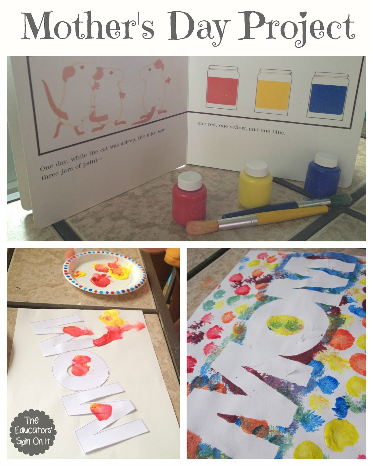 Easy mother 39 s day craft the educators 39 spin on it for Crafts to make for mom