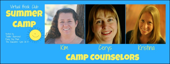 Virtual Book Club Summer Camp for Kids Ages 2-5 hosted by The Educators' Spin On It, Rainy Day Mum and Toddler Approved