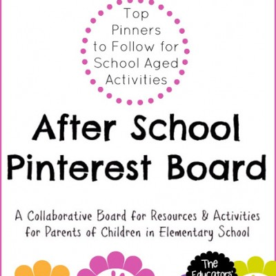 Top Pinners to Follow for School Aged Activities this Summer