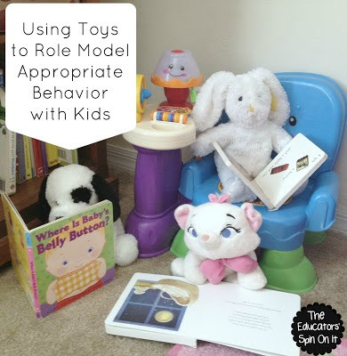 Using Toys to Model Appropriate Behavior with Kids {Virtual Book Club for Kids}