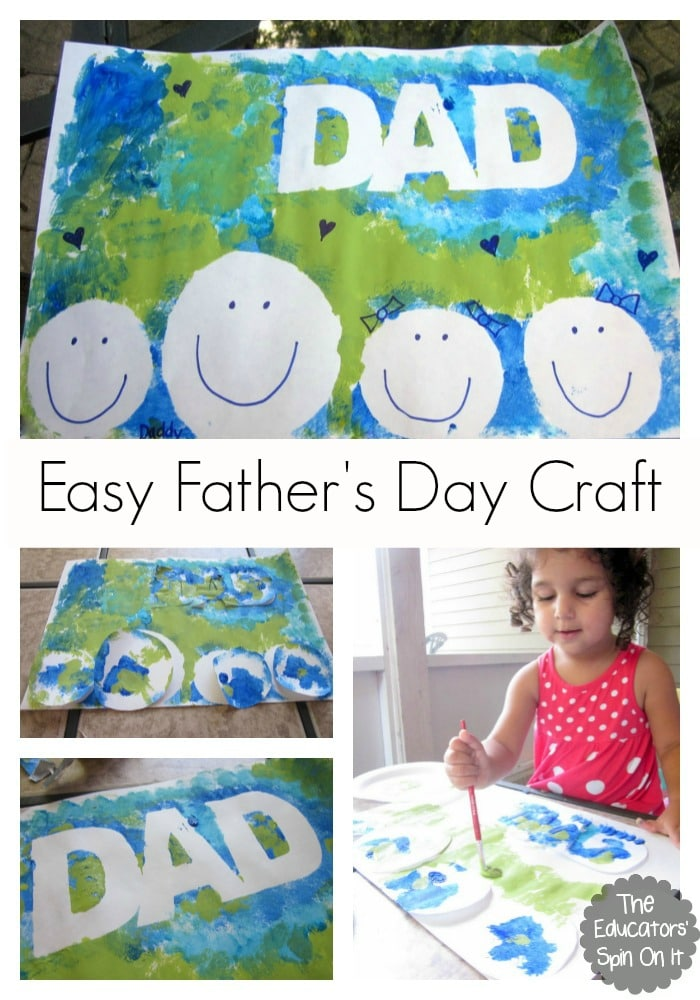 Easy Father S Day Craft For Kids To Make