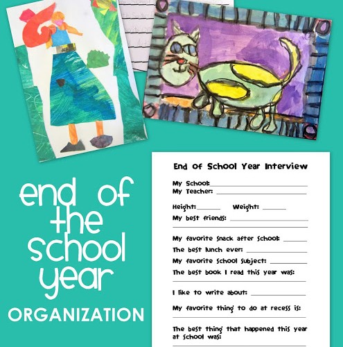 End of the School Year Organization for Grade School Children