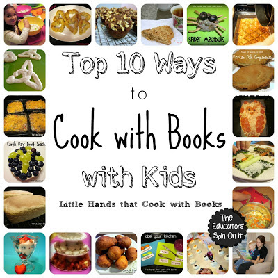 Top 10 Ways to Cook with Books with your Kids this Summer!