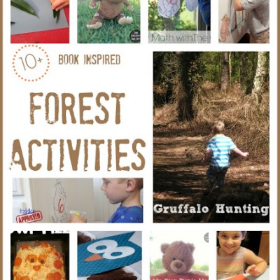 10+ Book Inspired Forest Activities