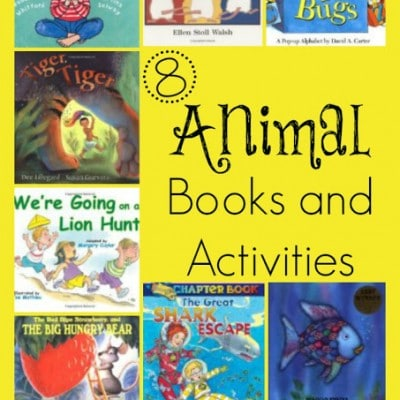 "8+ Animal Books & Activities from our ""Love Books"" Participants"