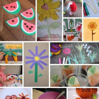14 Garden Themed Activities Inspired by Books