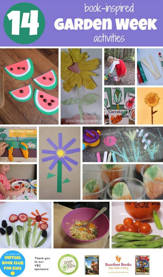 Garden Themed Activities for Kids from The Educators' Spin On It