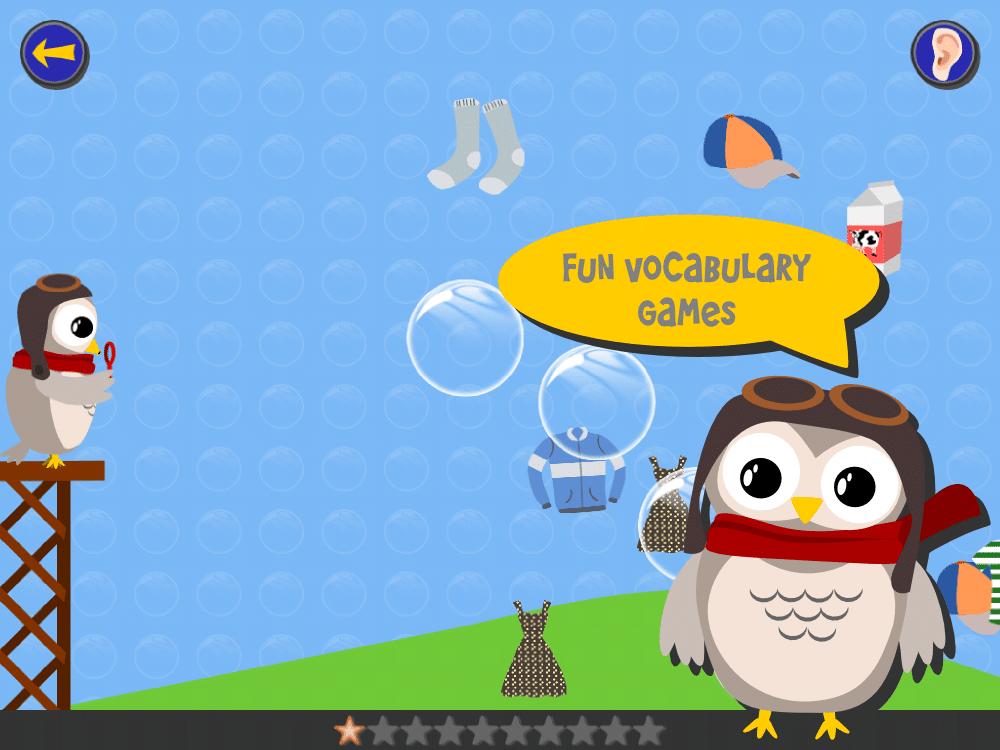 آموزش زبان به کودکان با اپلیکیشن