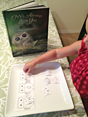 Printable Owl Word Game for Kids