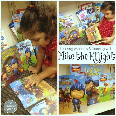 Learning Manners and Encouraging Reading with Mike the Knight