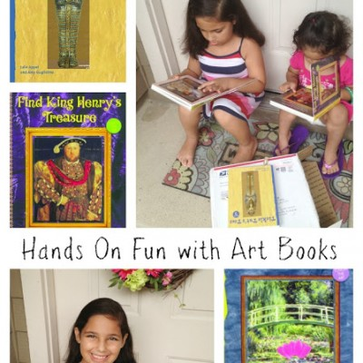 Interview with Author Amy Guglielmo featuring the Touch the Art Books & Giveaway