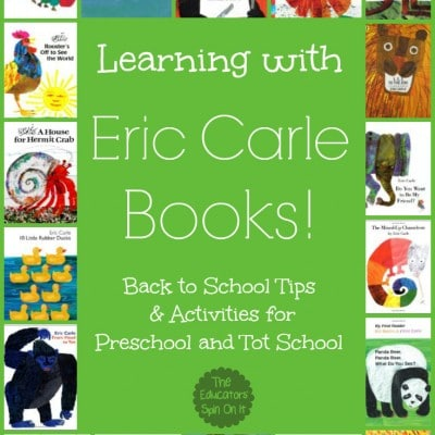 Tips for Learning with Eric Carle Books!