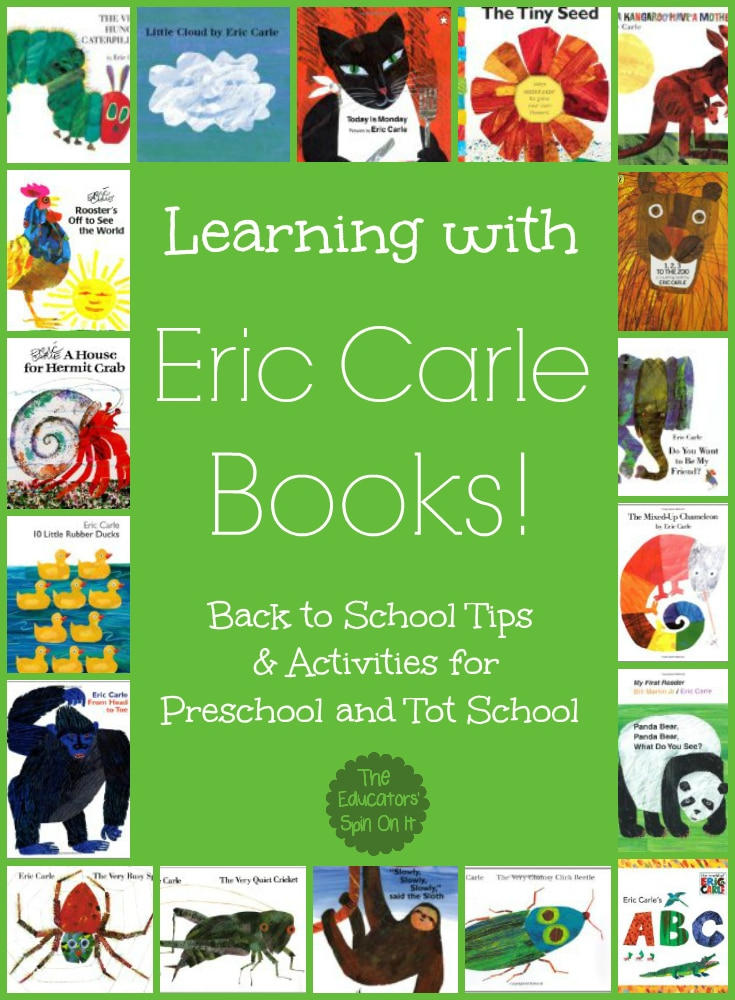 tips for learning with Eric Carle books
