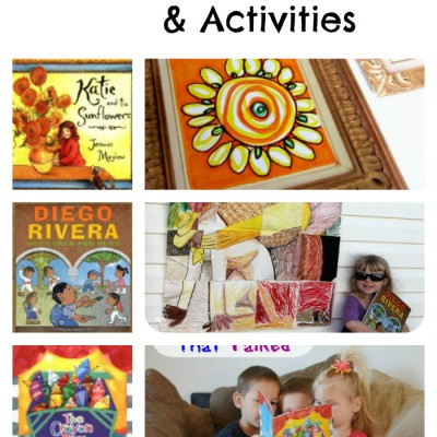 Art Themed Books and Activities for Kids